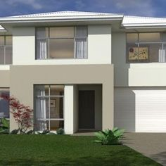 Based on the 2016 MBA AWARD WINNER, the Acclaim, this carefully planned and well executed design has everything a growing family needs! Home Design Plans, Plan Design, Design Concepts, Modern Floor Plans, House Floor Plans, Double Storey House Plans, Big Bedrooms, Two Story Homes, Australian Homes