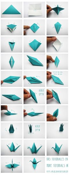 origami, passo a passo