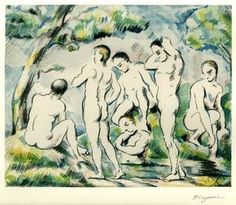 Bathers in a Landscape, 1898