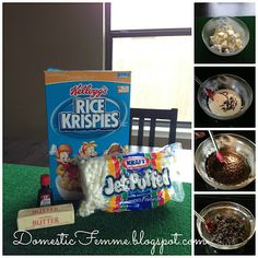 DIY Minecraft Party | Minecraft Birthday Party: Black Coal Rice Krispies #Parties #Birthdays ...