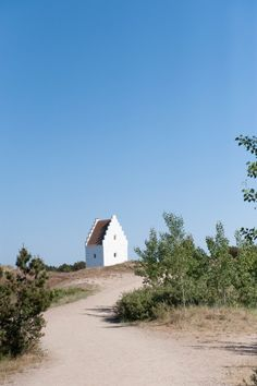 Skagen, Danmark. very Old church.