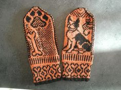 dog lover mittens by hdecol