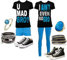 """@Adrianna Wagner can we please? lololol """"For me and my Best Friend."""" by amk109716 on Polyvore"""