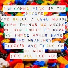 "Lego House   by Ed Sheeran -- #LyricArt for ""Lego House"" by Ed Sheeran"