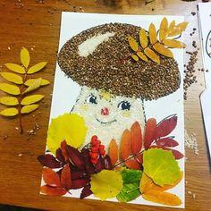 fall - Fall Crafts For Kids Autumn Crafts, Fall Crafts For Kids, Autumn Art, Nature Crafts, Diy For Kids, Diy And Crafts, Kids Crafts, Paper Crafts, Fall Preschool