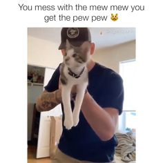So cute - Funny Animal Quotes - - Funny Animal Jokes, Funny Animal Videos, Cute Funny Animals, Animal Memes, Funny Cute, Hilarious, The Animals, Cute Little Animals, Cute Kittens