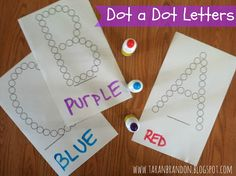 our journey.: Toddler Learning: Letters