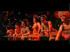 """From Sweet Charity, """"Big Spender"""" fabulously scene, choreographed by Bob Fosse...Anthem to assembly-line sex"""