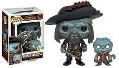 Pirates of the Caribbean - Cursed Barbossa | Funko Pop!