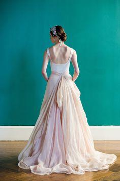 Carol Hannah wedding dress Kensington  Ball gown Linen street size DE 38 id358