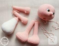 Amigurumi bebek ve resimli açıklamalı yapımı - 10marifet.org #Amigurumi