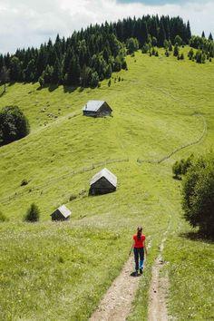România: drumeții pe dealuri în Șimon (iulie 2019) – 1/2 – Alexandra – bloguldecalatorii.ro Turism Romania, Romania Travel, Golf Courses, Country Roads, Bucket, Blog, Beautiful, Beautiful Places, Blogging