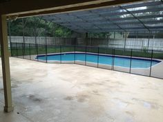 Pool Fence In Oak Hill - Have a pool guard 24 hours a day surrounding your pool for the moments you least expect to happen! Call Baby Barrier Pool Fence of Volusia Today! #PoolSafetyFence #PoolSafety #BabyBarrier