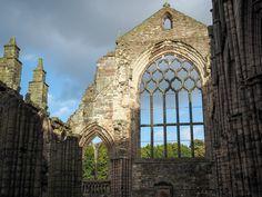 Holyrood Abbey ruins