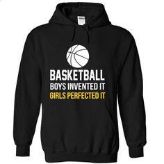 Basketball Girls - #baggy hoodie #navy sweater. ORDER NOW => https://www.sunfrog.com/Sports/Basketball-Girls-Black-7508383-Hoodie.html?68278