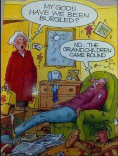 Funny cartoon - Grandchildren - http://jokideo.com/funny-cartoon-grandchildren/