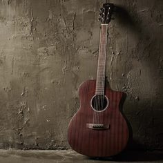 Hive F120C, African Sapele body acoustic guitar of Hex Instruments