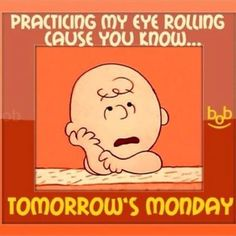 Charlie Brown and Mondays