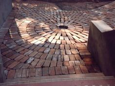 Custom Recycled Brick Paving, Roseville