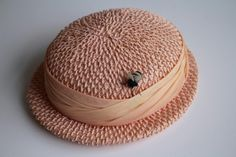 My first vintage hat. Bee in your bonnet.