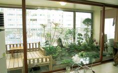 조선식 베란다 2 Exterior Design, Interior And Exterior, Atrium Garden, Condominium, My Dream Home, Home Office, My House, Sweet Home, Gardens