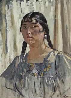 Gypsy Girl by Augustus Edwin John