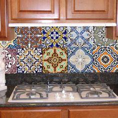 cozinhas com azulejos hidraulicos - Pesquisa Google