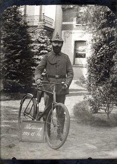 Radfahrer from 8. Landsturm Infanterie Bataillon 'Münster' (VII. 70), Antwerp 1916