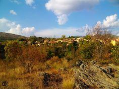Vista de Horcajuelo de la Sierra desde la ermita.