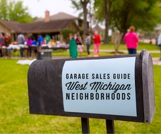This information for Grand Rapids Garage Sales is updated for 2016. We welcome new additions to this guide! Please enter your information here. All new entries must include at least 10 houses, or one church, or the equivalent of either. When entering your neighborhood please give cross streets for ease of locating your sale.