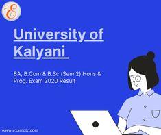 University Of Calcutta, Examination Results, Exam Results, State University