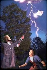 """How Benjamin Franklin """"Discovered"""" Electricity/The Franklin kite experiment & lightning safety tips for your workers. Lightning Safety, Lightning Rod, Benjamin Franklin, Weird Facts, Fun Facts, Safety Week, Static Electricity, God Bless America, Need To Know"""
