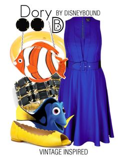 """""""Dory"""" by leslieakay ❤ liked on Polyvore featuring Givenchy, Thalia Sodi, City Chic, Evans, Vince Camuto and vintage"""