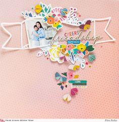 Flower Banner Layout by Flóra Farkas | Paige Taylor Evans