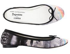 Repetto x Mary Katrantzou ballerina shoes