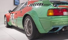 Andy Warhol Painted a BMW M1 In 24 Minutes Because He Could