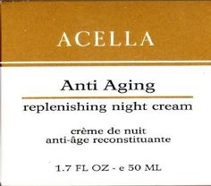 Acella AntiAging Replenishing Night Cream 17 oz ** This is an Amazon Affiliate link. You can get more details by clicking on the image.