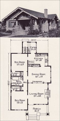 1922 E. W. Stillwell & Co. - No. L-17... Lived in a house with this exact floor plan. It got torn down for a high school parking lot. :-(