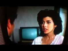 """My cousin Vinny, best scene ever!!    """"Imagine you're a deer. You're prancing along, you get thirsty, you spot a little brook, you put your little deer lips down to the cool clear water… BAM! A fucking bullet rips off part of your head! Your brains are laying on the ground in little bloody pieces! Now I ask ya. Would you give a fuck what kind of pants the son of a bitch who shot you was wearing?""""   LOVE Marisa Tomei!"""
