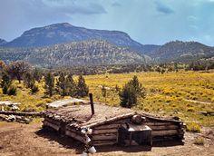 Homesteader dugouts -  New Mexico