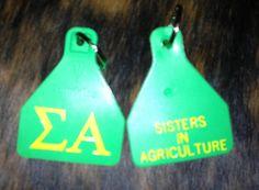 Sigma Alpha Ear Tag Key Chains email skiier_007@yahoo.com to order!!!