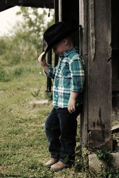 awwww John needs to be a cowboy :) adorable!