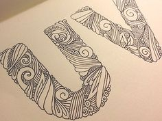 Beautiful lettering by Anna Ropalo