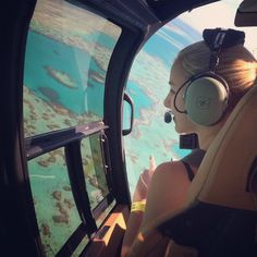 Chloe Lukasiak in a helicopter over the great barrier reef! Chloe Lukasiak, Great Barrier Reef, Helicopter Tour, Creative Pictures, Get Outdoors, Dance Moms, Adventure Is Out There, Private Jet, Australia Travel