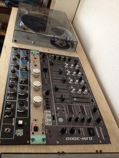 Rotary DJ Mixer