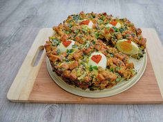 Bruschetta, Vegetable Pizza, Paleo, Food And Drink, Low Carb, Meals, Vegetables, Ethnic Recipes, Easter