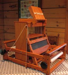 Used Table Loom 8 Harness by Kessenich by maverickson on Etsy