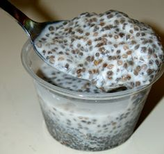 Uncovering Food: Chia Seed Vanilla Pudding