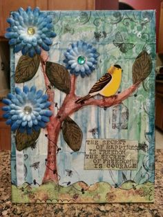 mixed media bird - WOW.com - Image Results