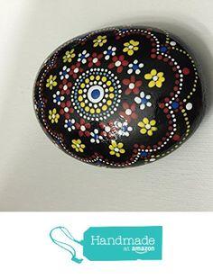 Mandala Stone #70 from Mafa Stones http://smile.amazon.com/dp/B01AY96APU/ref=hnd_sw_r_pi_dp_cMsQwb011S6BK #handmadeatamazon